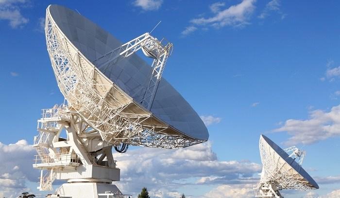 Satellite-Antenna